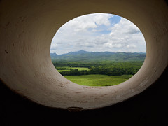 Doors Windows - Cuba (Lesmacphotos) Tags: view countryside lush fertile mountains cuba