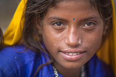 Inde: les nomades du Rajasthan. (claude gourlay) Tags: inde india asie asia indedunord northindia rajasthan jaisalmer claudegourlay portrait retrato ritratti ritratto people personnes indien indija nomade