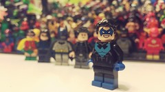 Nightwing (-{Peppersalt}-) Tags: lego nightwing batman dc comics characters minifigures figures super heroes villains teen titans dick grayson robin city asylum rebirth peppersalt