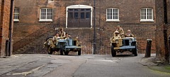'Dockyard at War' (andrew_@oxford) Tags: chatham historic dockyard salute 1940s desert rats lrdg long range group living history reenactors vintage