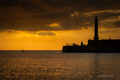 Margate Sunset (pauldgooch) Tags: margate england unitedkingdom gb 600d 2016 canon coast eos harbour kent lighthouse sea seaside silhouette summer sunset thanet cloud