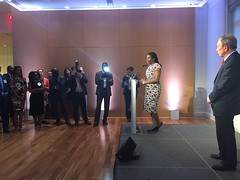 'Innovative Partnerships for Women in Africa' Cocktail Reception | New York, 22 September 2016 (Jeannette Kagame) Tags: namibia rwanda usa bloomberg philanthropies michael jeannettekagame sara netanyahu verna eggleston chad deby mali keita niger nigeria israel unga benin