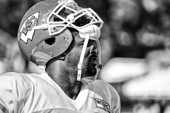 2016 Faces of Training Camp-59 (Mather-Photo) Tags: 2016 andrewmather andrewmatherphotography blackandwhite chiefs chiefskingdom chiefstrainingcamp closeup colorless faces football helmetoff kcchiefs kansascitychiefs matherphoto monochrome nfl sportsphotography summer team trainingcamp