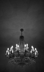Black Chandelier (Foreign17) Tags: nikon d7100 barcelona catalonia catalunya traveler chandelier light