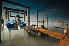 Paesaggi di laguna (Ag-NO3 Angelo Sampino) Tags: paesaggio landscape cielo sky barche boats acqua water laguna lagune blu agno3 © angelo sampino nikon d700 treporti cavallino venezia veneto italia italy ngc nikonflickraward