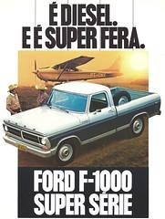 Diesel F-1000 (Hugo-90) Tags: ford diesel pickup f1000 shortbed truck