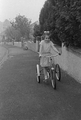 IMG_2263 (zaphad1) Tags: old unknown negaitives slides crail 1960 sixties 1960s 60s creative commons bike bicycle trike tricycle raleigh scotland scots scottish history historical local negs negatives zaphad1