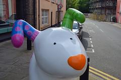 The-Snowdog-D-23-September-2016 (Steve Ellwood Whitley Bay) Tags: greatnorthsnowdogs thesnowdog ouseburn limestreet thesevenstories ellwood steveellwood