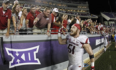 TCU loses to Arkansas (paulmoseleyphotos) Tags: 0910tcuarkansasfootballsportsbig12collegefortworth fortworth tx paul moseley paulmoseleyphotos fort worth dallas texas photo photographer photojournalism canon eos porsche carrera 911sc 911t 911s 911l 911e 356 914 928 cayman boxster cayenne macan fuchs german germany volkswagen gti r32 rangers mlb stars nhl tcu horned frogs cowboys nfl mavericks mavs nba woodrow wilson high 1972