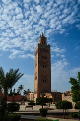Marocco - Marrakech (Valeria Conte (Fondi)) Tags: verde moschea colori cielo arte la della koutoubia nikon nikon5100 travel viaggio tour