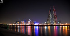 The World Trade Centre, Bahrain (RJ-Clicks) Tags: rehanjamil rjclicks nikond5100 nikon d5100 pakistaniphotographer photographerindammam photographerinkhobar pakistani