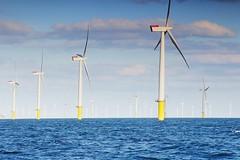 Wind Farm in the Sea (Lazenby43) Tags: windfarm sea mersey irishsea