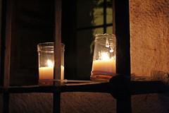 Night of candles (David Insonusvita) Tags: candles velas noche pedraza luces iluminacion spain espaa de las iluminada ventana window jail night