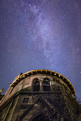(Chris B70D) Tags: elms arbroath orphanage derelict abandoned stone ruins rotten floor paint wallpaper torch light night shoot long exposure scotland pattern detail texture chris berridge canon 70d autumn stars galaxy milky way f28 tokina 1116 colours sky pollution