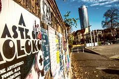 Gasse (nicoheinrich86) Tags: gasse jena uniturm bokeh urban nikcollection nikon deutschland d5000 pov pointofview