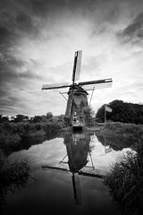 Windmill at Dusk (Ian Bramham) Tags: riekermolen windmill amsterdam photo ianbramham