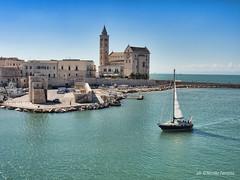 Trani 2016 (NIKOZAR (Nicola Zaratta)) Tags: trani puglia mare vela sea summer boats castle castello olympusem10markii olympusm14150mmf4056ii olympus