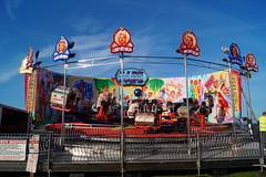 DSC02237 (A Parton Photography) Tags: fairground rides spinning longexposure miltonkeynes fireworks bonfire november cold