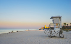 Good Morning Florida (KD Robinson) Tags: sunshine sand sunrise impressive water orange florida sun beach ocean beautiful travel tower architecture seascape view lifeguard color detail panamacity unitedstates us