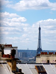 Paris is always a good idea. (claudiarusso) Tags: city roof summer sky paris france hot tourism geotagged photography idea high europe tour view good walk eiffel montmartre tourist toureiffel always nationalgeographic 2011 natgeohub claudiarusso
