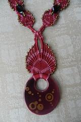 particolare collana 2 colori (patty macram) Tags: bijoux macrame gioielli margarete macram margaretenspitze
