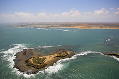 Aerial View near Kismayo, South Somalia