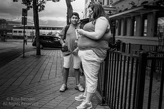 20120720-00-136 (Russ Beinder) Tags: street leica woman canada man vancouver bc candid seminar gastown texting txting leicasummaritm35mmf25