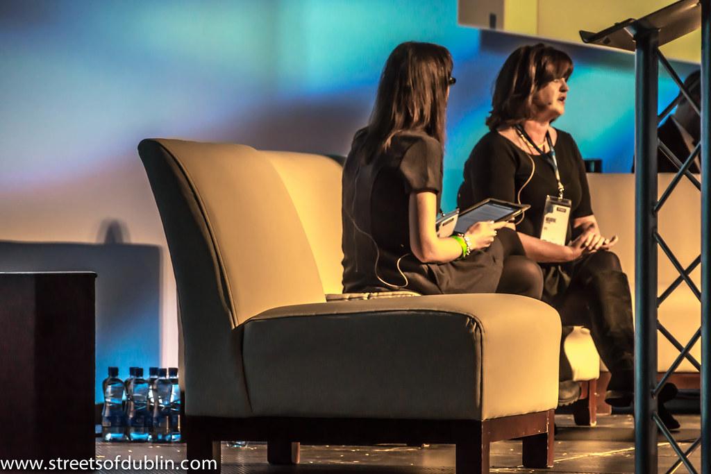 Web Summit 2012: Managing Director Of RTÉ Digital, Múirne Laffan, Is Interviewed By Ann O'Dea (CEO of Silicon Republic)
