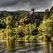 Die Mosel bei Cochem mit der Reichsburg Cochem