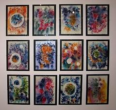 """Journeys"" (2006) by Beena Rugnathji (Fresh Gallery Otara) Tags: newzealand visualart artsale otara southauckland pacificart beenarugnathji"