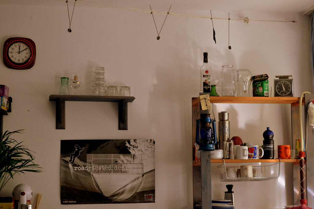Karlshof Wand Der Hause III (khalid.salman99) Tags: Life Students Kitchen  Hostel