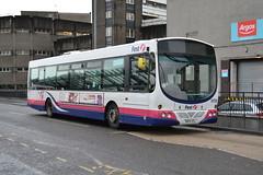 First Scania L94UB 65709.SN54KDJ - Stirling (dwb transport photos) Tags: bus solar stirling first wright scania 65709 sn54kdj