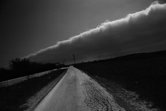 IMGP9405 (stavrosstam) Tags: road bw clouds landscape