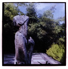 Carved statue (jmorliaguet) Tags: wood trees sculpture color 120 6x6 tlr analog mediumformat square spain fujifilm 230 yashica laspalmas yashicamat 80mm arucas cprint ra4 fujireala100 reala100 yashicamat124 roomtemperature epsonv700 yashinon80mmf35 fujicolorcrystalarchive rolleidigibasera4