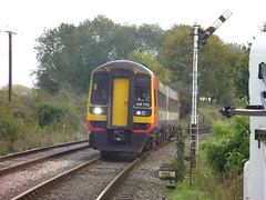 Mid Norfolk Rlway - Multiple Matters Weekend (pnb511) Tags: trains railways dmu class158 diesels multipleunits midnorfolkrailway thuxton 158770 eastmidlandtrains