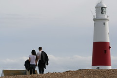 Goodbye to Portland Bill (raggi di sole) Tags: england lighthouse portland coast ciao goodbye portlandbill portlandbilllighthouse 112picturesin2012 112in2012 112goodbye