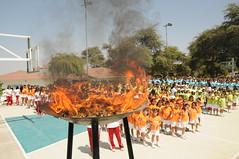Octubre, 09: Inauguración Olimpiadas 2012