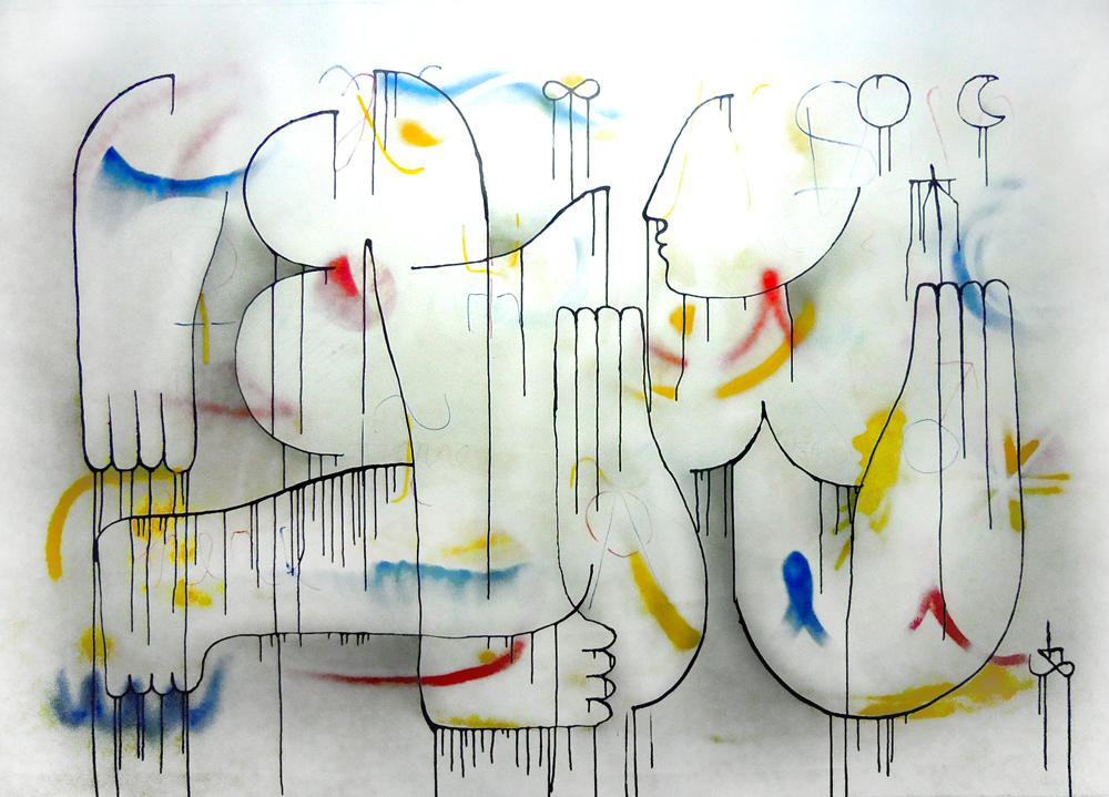 Untitled. 22.10.2012. mixed media