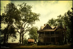 The Last Hour (dsfdawg) Tags: old trees house history abandoned home broken rural ga vintage georgia scary rust ruins closed decay farm exploring south rustic columns rusty historic haunted creepy explore southern abandon forgotten plantation fields historical weathered mansion hdr highdynamicrange boarded textured oldsouth dsfotography dsfdawg