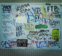 Slaps (Mercy562) Tags: art one graffiti baker stickers tags slap mercy darn flim whittier hemp ssc utk esay dbr esae diroe