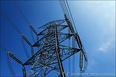 powerlines02 (callbusybiz) Tags: blue sky tower lens snapshot evil sunny powerlines fujifilm miaoli  xf       apsc  mirrorless  xpro1  18mmf2