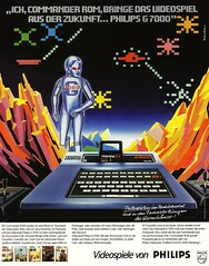 Philips (1982) G 7000  Videopac Computer (H2O74) Tags: game station computer ads advertising fun robot pc video 1982 atack publicidad play g space phillips von ad attack culture lifestyle xbox games philips advertisement robots anncio videogames 80s advert videogame werbung console playstation rom publicit 34 sattelite reklame commander advertisment 80er spiel publicitario satelite robo adverts spielen anzeige roboter pult kult spiele cassete weltraum 7000 videospiele anzeigen videospiel sattelit satelit videopac attacke kommando werbungen spielekonsole cassetten sateliten g7000 reklamen atacke vorlufer urahn vorgnger videopac34