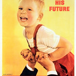 "<b>Protect His Future, Buy and Keep War Bonds</b><br/> Ruth Nicols(1944) Curated by Clara Bergan(LC '13)<a href=""//farm9.static.flickr.com/8048/8119374120_cb1a1e3414_o.jpg"" title=""High res"">∝</a>"