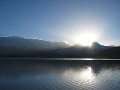 Sunrise at Karakul lake in Xinjiang, China (mbphillips) Tags: xinjiang 新疆 中国 west 中國 شىنجاڭ fareast asia アジア 아시아 亚洲 亞洲 중국 mbphillips canonixus400 lake 호수 湖 lago 산 山 montaña geotagged photojournalism photojournalist travel mountain chine china