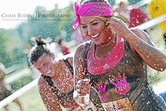Dirty Girl: Bright Smile (the Halfwitboy) Tags: charity pink ladies girls woman hot sexy beautiful lady female race canon stand fight women boobies pretty texas breast tank mud boobs top cancer houston run curvy save dirty redhead event help together short 7d blonde attractive take brave 5d benefit shorts females brunette awareness triathlon cure find cause courageous voluptuous compete 1041 competitors savetheboobies manvel horseranch krbe iloveboobies dirtygirl2012