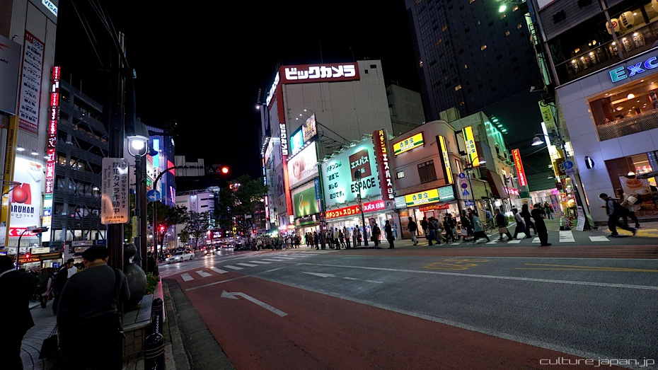 Shibuya by Night