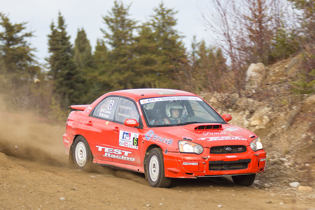 Mathieu Dubé / Éric Losier - Rallye de Charlevoix 2012