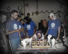 Ness El-Khir Mascara Algrie, clbre avec El-Hadja Khaira,  Qui teindre son bougie, la cent ans! Que Dieu son bnisse (menosultra) Tags: algeria town el mascara years 100 29   ness            wilaya            kihr