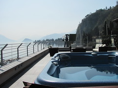 Arianna Lake, Menaggio (Cernobbiodeluxe.com) Tags: panorama lake holiday como relax bath view terrace balcony villa stunning arianna luxury highclass whirpool menaggio