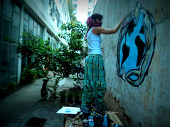 (gueda Couto (aka Yuma)) Tags: graffiti yuma uroborus oroborus